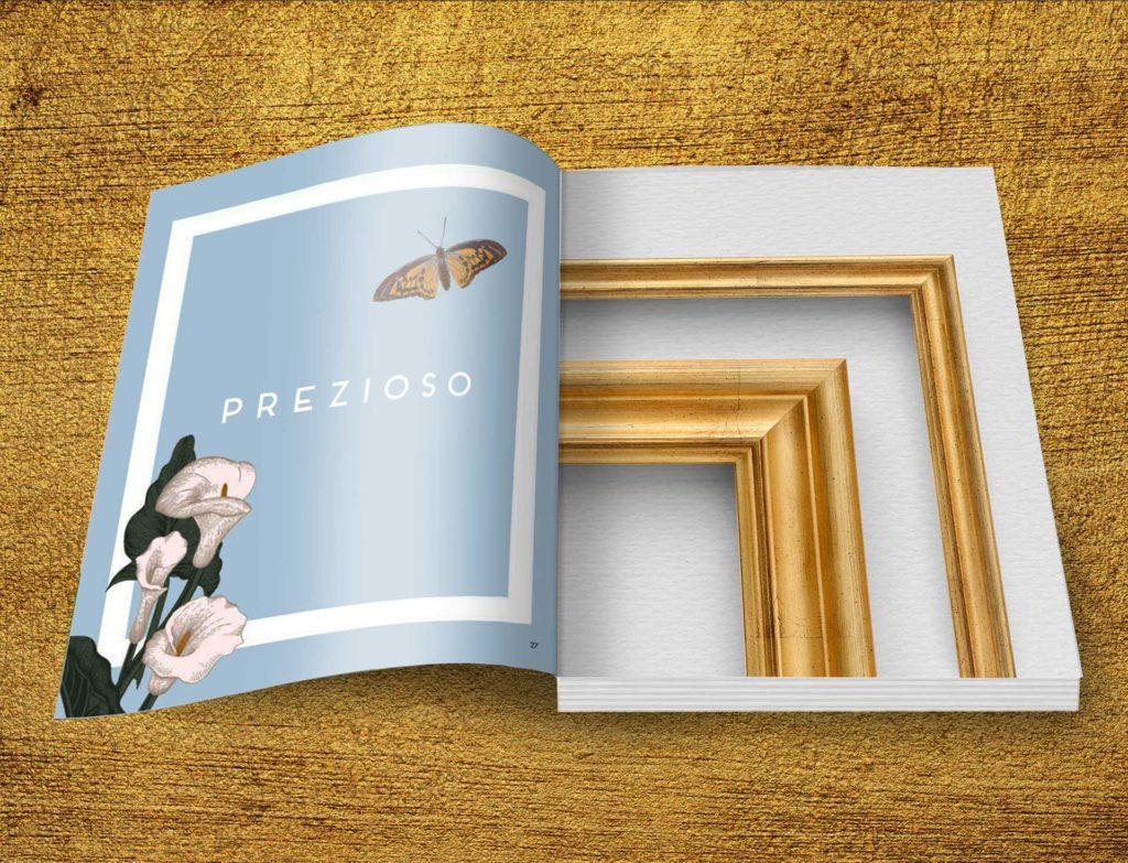 Book Precious - Italian Frame Moulding