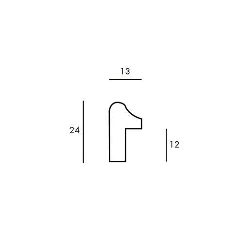 Aste per Cornici - Elegante 1 - cod159.15.852