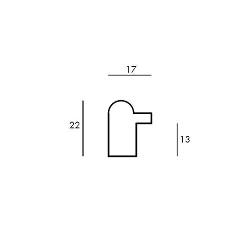 Aste per Cornici - Gea 1 - cod730.15.101
