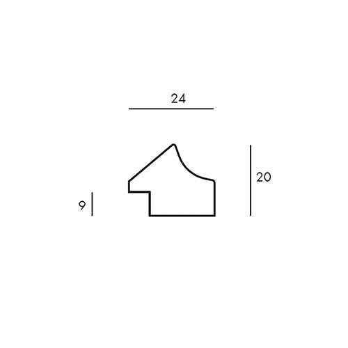Aste per Cornici - Gea 6 - cod820.25.101