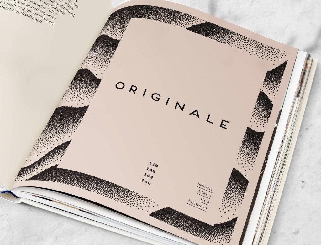 Catalogo Originale Rosini Cornici - Aste artigianali - Ingrosso