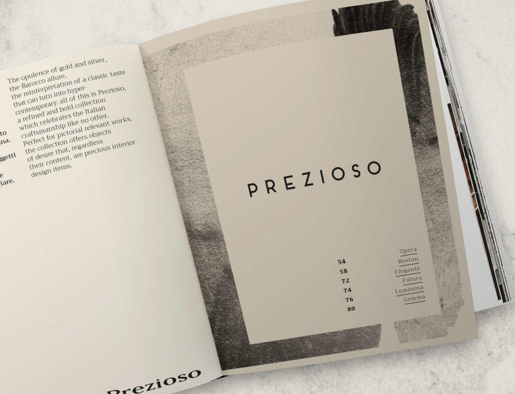 Catalogo Prezioso - Rosini Cornici - Aste artigianali ingrosso